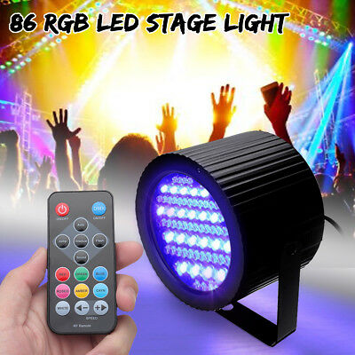 86 RGB LED Stage Light DMX Lighting Laser Projector for DJ Party Disco Halloween