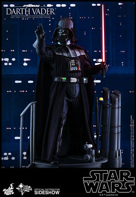 Darth Vader Star Wars Episode V Movie Masterpiece 1/6 Action Figure By Hot Toys