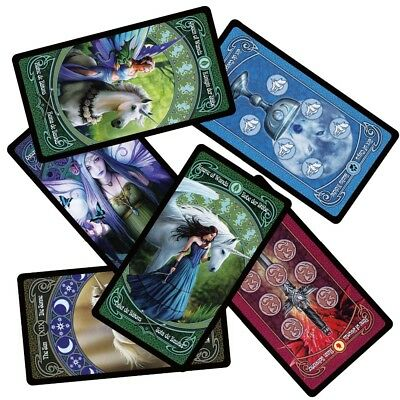 legend tarot cards deck English Spanish French German divination board fate
