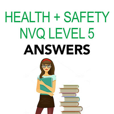 NVQ LEVEL 5 Diploma Health and Safety Practice Complete Portfolio Answers 2018
