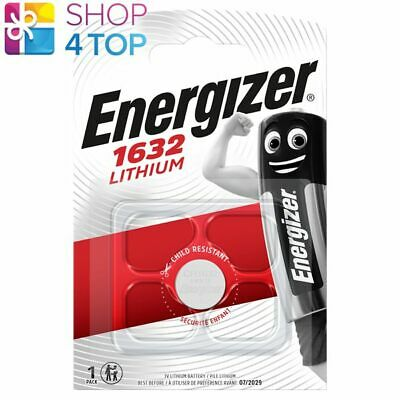 Energizer Cr1632 Lithium Battery 3V Cell Coin Button Exp 2026 New