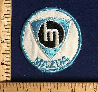 Vintage Mazda Rotary Auto Dealer Uniform Patch