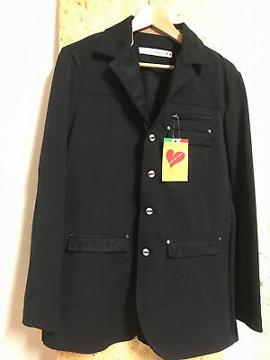 Turnierjacket Sakko Interview Animo Herren schwarz Gr. 50