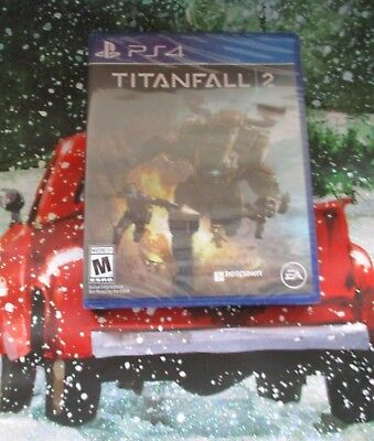 PS4 NEW Sealed Titanfall 2 Video Game Sony Playstation Mature
