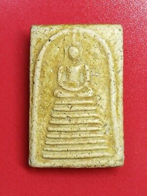 Fetish Talisman Holy Thai Amulet Phra Somdej LP KedChiYo Buddha Monk Powerful