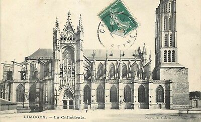 Cp Limoges Cathedrale