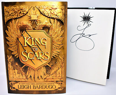 **SIGNED 1/1** King of Scars AUTOGRAPHED by Leigh Bardugo +COA NEW