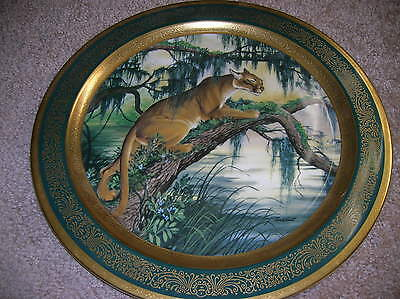 """1978 Pickard American Panther James Lockhart 13"""" Plate 269 Of 2000"""