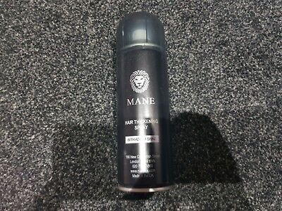 MANE HAIR THICKENING SPRAY /with seal and shine  - VARIOUS COLOURS- LOW PRICES