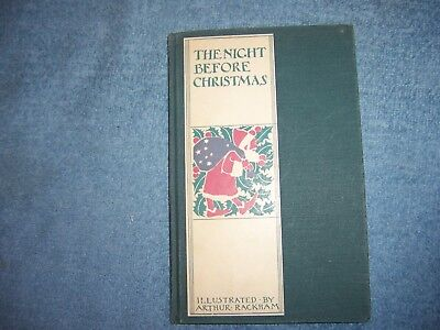 THE NIGHT BEFORE CHRISTMAS by Clement C. Moore/HC/Childrens/Fiction/Illustrated