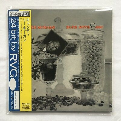 Lee Morgan Candy CD 24-Bit by RVG Japan Mono Mini LP BLP 1590 OBI Like New