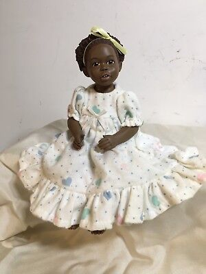 "Anika Figurine  Miss Martha Holcombe  ""All God's Children"""