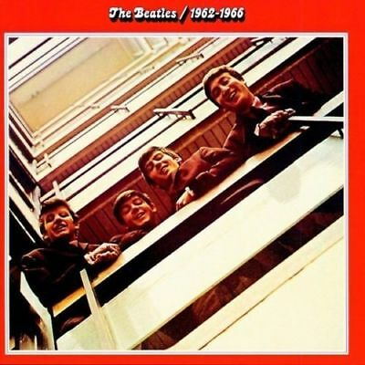 The Beatles - 1962-1966 -- 1993  2 x CD's The Red Album