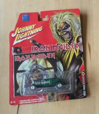 Iron Maiden Aces High Car,Johnny Lightning Collector Legacy of the beast limited