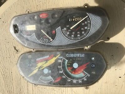 Piaggio Typhoon Nrg Clocks Speedo Dials