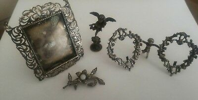 lot miniatures ancient silver 800