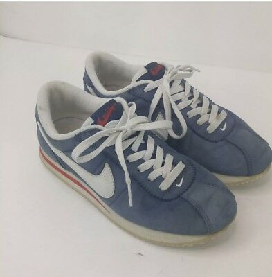 the latest 0182a 3d707 NIKE 9 Pre Montreal Racer PREFONTAINE waffle RED WHITE BLUE suede VINTAGE  shoes
