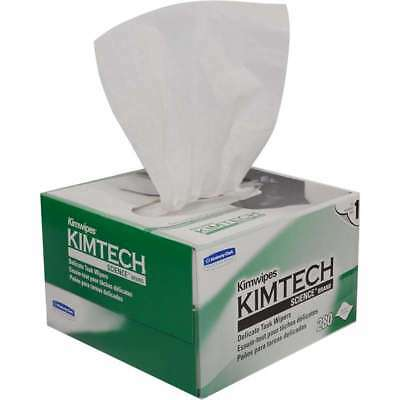 SALE! 15 BOXES!! KIMWIPES Kimtech LINT FREE Cloth Delicate Task Wipers, 280/Box
