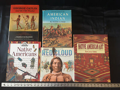 Native American Indian Books Apache Hopi Sioux Navajo Osage Crow Art Lot of 17