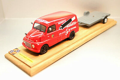 Am 71.creations Fiat 615 N Abarth Assistance Course + Plateau 1/43.