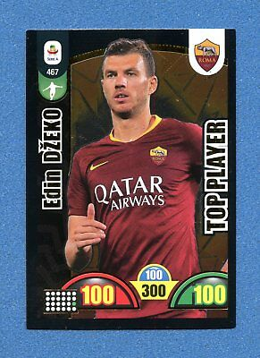 -CALCIATORI 2018-19 -Adrenalyn Panini- Card TOP PLAYER n. 467 - DZEKO - ROMA