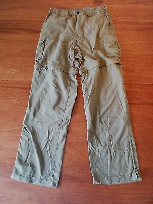 """Official Boy Scouts of America Switchback Uniform Pants Men's Small 30"""" Green"""