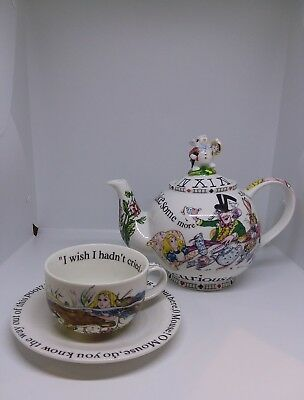 Madhatters Teaparty Porcelain Teaset By Cardew