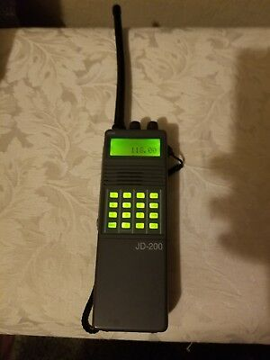 SPORTY'S JD 200 Airband Transceiver Pilot Aviation Handheld