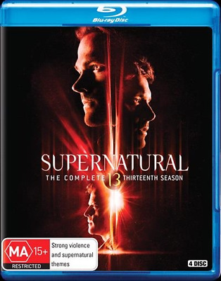 Supernatural - Season 13 Blu-Ray : NEW