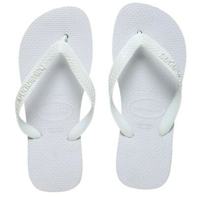 New Havaianas White Top Thongs By OZSALE
