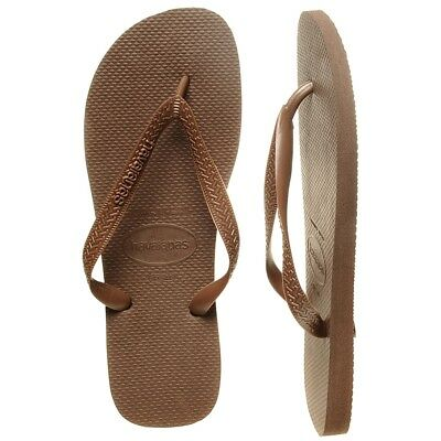 New Havaianas Top Dark Brown Thongs By OZSALE