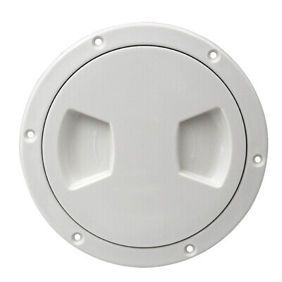 """Marine Boat RV 5"""" Access Port Hatch Cover Twist Out Deck Plate"""
