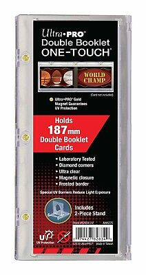 Ultra PRO One-Touch 187mm Vertical Booklet Magnetic Card Protector Case 155pt