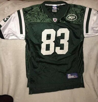 446def8d2 NFL Authentic Reebok New York NY Jets Santana Moss  83 Jersey Football Mens  XL
