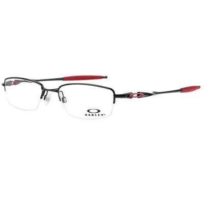 2fa71a0d84 OAKLEY FRAME OX3129 Colour 0753 Polished Black red Size - 53-18 136 ...