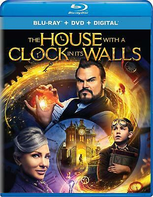 The House with a Clock in Its Walls Blu-ray + DVD + Digital 2DiscsSet Slipcover