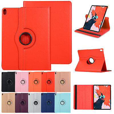 For iPad 9.7 2017/2018 Protective Leather Flip Stand 360° Rotating Cover Case
