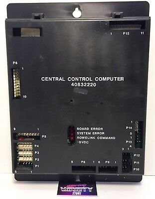 Ami Rowe Central Control Computer 40832220 - Tested CD100 100A Original Unit