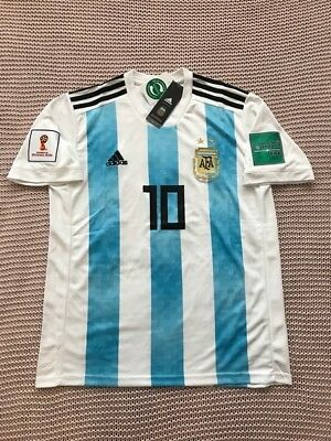 892885b4e Lionel Messi Argentina National Soccer Team New Men s Home Soccer Jersey - M