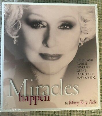 On CD  Miracles Happen by Mary Kay Ash Autobiography Brand  Audiobook
