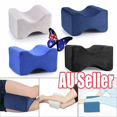 2019 Memory Foam Leg Pillow Cushion Knee Support Pain Relief Washable Cover JW