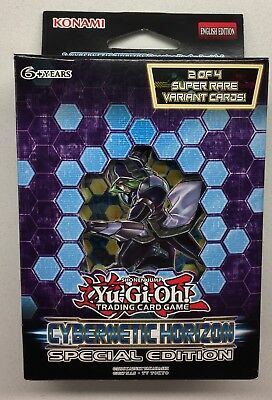 Yugioh CYBERNETIC HORIZON Special edition - 3 Booster Packs & Super Rare Variant