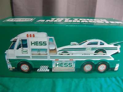 NEW in Box Electronic Hess Toy Truck and Dragster 2016 Collectible w/ Batteries