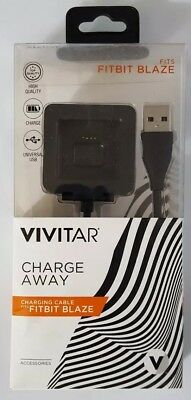 Vivitar Charge Away Charging Cable Fits Fitbit Blaze (PCF-BLZ)