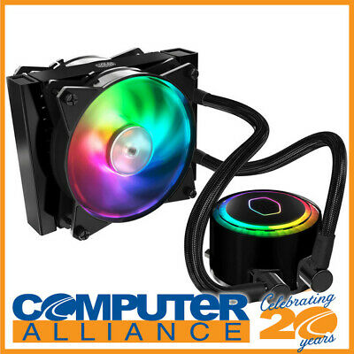 Cooler Master MasterLiquid ML120L RGB Liquid CPU Cooler PN MLW-D12M-A20PC-R1