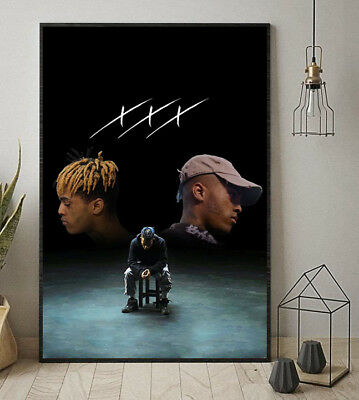 Triple X Dual Self Poster XXXTentacion 11-36 Inches Poster Without Frame