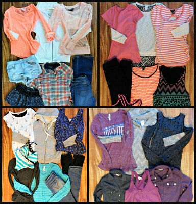 Junior's Clothing Mixed Lot 28 Pc. Size Small & 0/1  Clothing