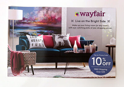 Wayfair 10% Off Coupon First Time Shopping Promo Code (Exp 3/15/19)
