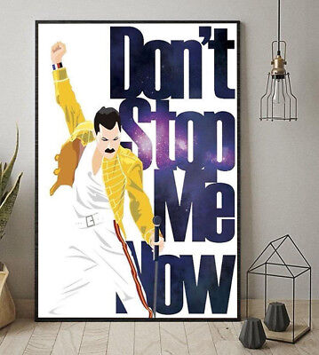 Freddie Mercury Queen Don't Stop Me Now Poster 11-36 Inches Unframed Poster