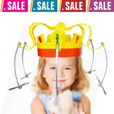 Novel Chow Crown Game Musical Spinning Crown Snacks Food